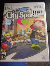 Wii Go Play City Sports Game NEW in Fort Riley, Kansas