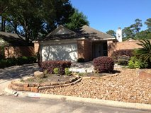 NICE Patio Home for Lease - Kings Crossing; Available Immediately in Kingwood, Texas