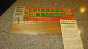 Vintage Milton Bradley Cribbage Board Game in Yorkville, Illinois