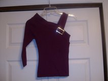 purple one sleeve sweater in Fort Riley, Kansas